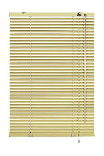 Gardinia Alu-Jalousie, Sicht-, Licht- und Blendschutz, Wand- und Deckenmontage, Alle Montage-Teile inklusive, Aluminium-Jalousie