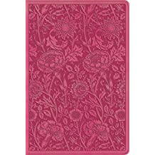 Holy Bible: English Standard Version, Berry, Floral Design, TruTone, Personal Reference Bible