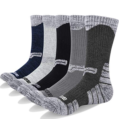 YUEDGE Men's 5 Pairs Breathable ...