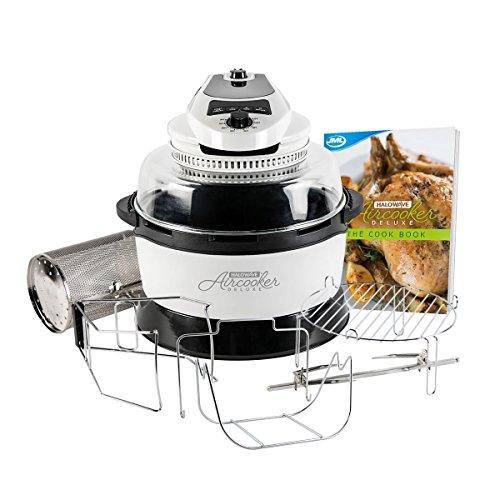 JML Halowave Aircooker Deluxe- White