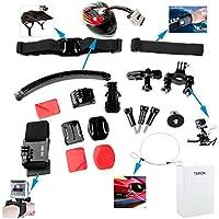 TARION? Kit dei accessori di montaggio per la macchina fotografica GoPro HD Hero 1 / 2 / 3 / 3+/4 (107Dazzne)