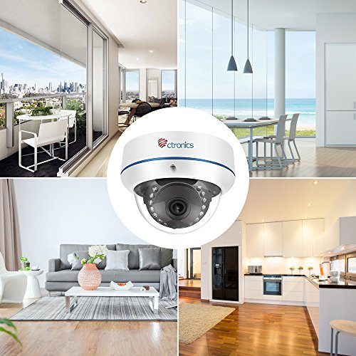 【720P】Ctronics Überwachungskameras Dome Kamera IP WIFI Wireless Kamera 720p - 6