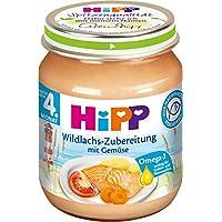Hipp Wildlachs-Zubereitung mit Gemüse, 125 g