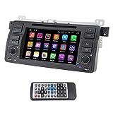 Qsicisl Single DIN Android 7.1 for BMW E46 7 Inch En Dash HD pantalla táctil coche reproduct...