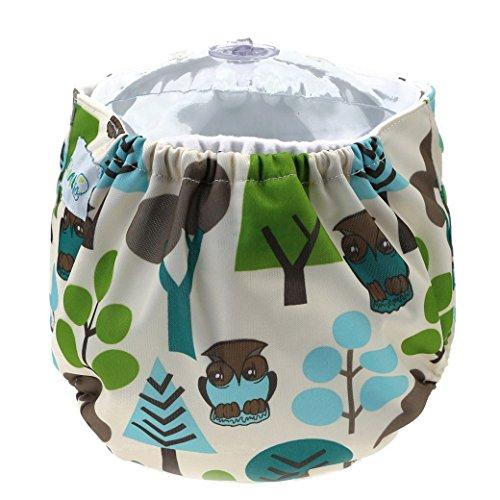 Happy Cherry Pañal de Tela Lavable Reutilizable Ajustable Infantil Di