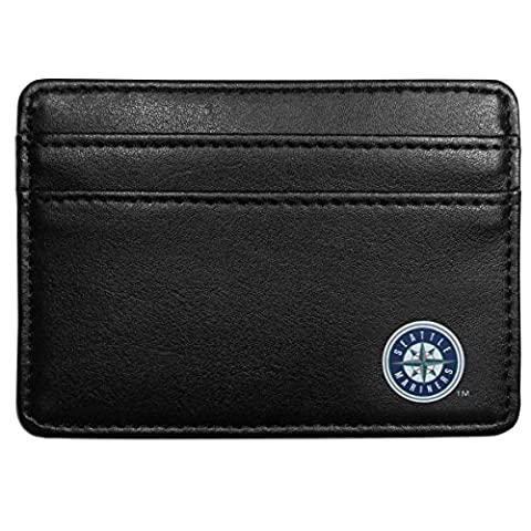 MLB Seattle Mariners Leather Weekend Wallet,
