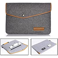 11-11,3 bxt® Vogue-Borsa per computer portatile-Borsa per trasporto tablet, in feltro, imbottitura Cover con custodia protettiva per Macbook Air/iPad Air/Microsoft Surface Pro 3, Ultrabook Notebook Ultra-leggero per Apple Macbook 11 inch Pro Air, Dell, Thinkpad, Sony, Lenovo, and di altri laptop