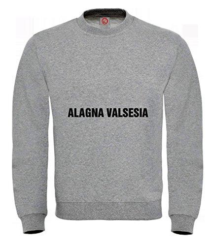 Felpa Alagna valsesia gray
