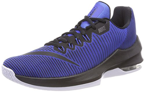 Nike Air Max Infuriate II, Chaussures de Basketball Homme, Bleu (Game Royal/Black-White 400), 40.5 EU