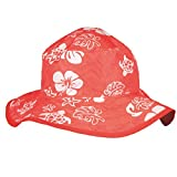 Baby Banz Baby Banz Baby Girls' Hat Reversible with Velcro Red Sea Turtle 0 2 Years Months