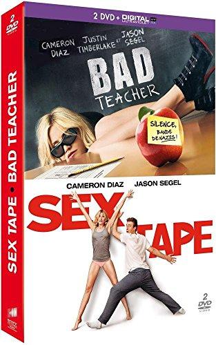 Coffret cameron diaz 2 films : sex tape ; bad teacher [FR Import] (Cameron Diaz Sex Tape)