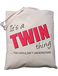 Crossword Queen design Natural Cotton Shoulder Bag Gift