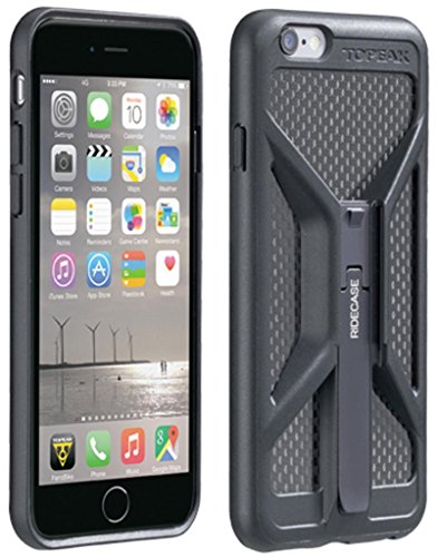 Topeak iPhone 6 Ridecase - Black, With Mount
