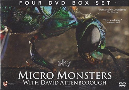 Preisvergleich Produktbild DAVID ATTENBOROUGH MICRO MONSTERS FOUR DVD BOX SET