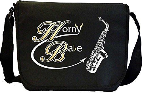Saxophone-Sax-Alto-Horny-Babe-Sheet-Music-Document-Bag-Musik-Notentasche-MusicaliTee