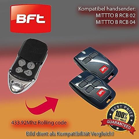 Telecommande Bft 02 - 3x moteurs émetteur manuel pour porte de