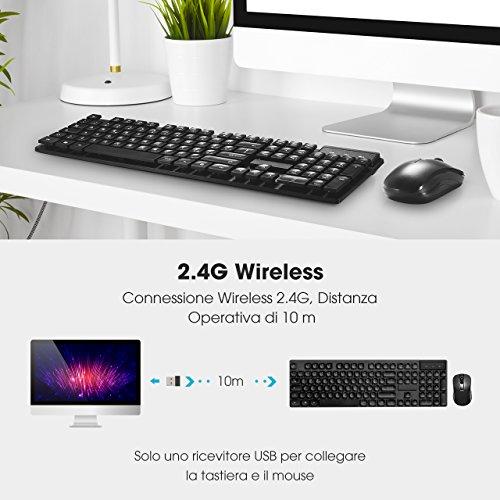 Zoom IMG-3 topelek tastiera e mouse pc
