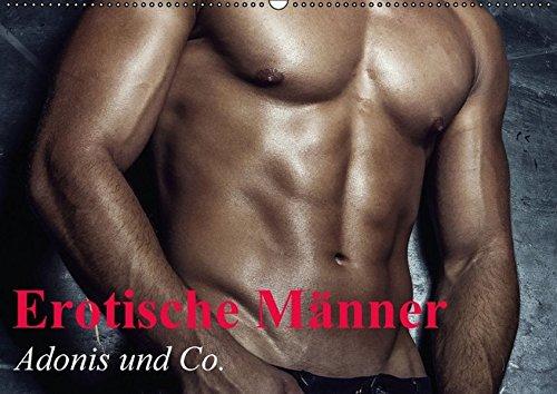 Erotische Männer - Adonis und Co. (Wandkalender 2016 DIN A2 quer): Stilvolle Männererotik und starke Muskeln für schöne Momente (Monatskalender, 14 Seiten) (CALVENDO Menschen)