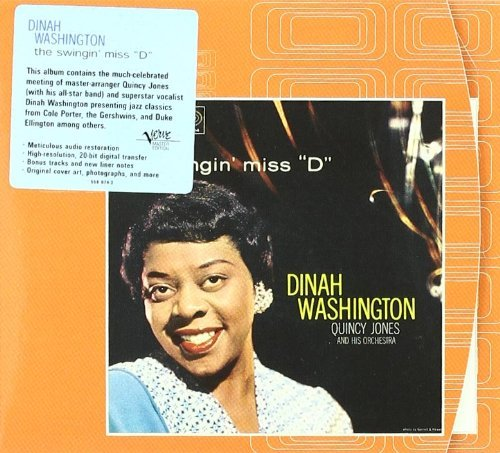 The Swingin' Miss D by Dinah Washington (1998-10-06)