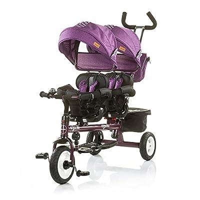 Apollo Triciclo Gemelar Bidireccional Parental