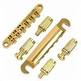 GamutTek ABR-1 Stil Tune-o-matic Bridge & Saitenhalter für Gibson Les Paul-Gang Ersatz, Gold