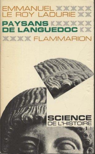 Paysans de languedoc par Emmanuel Le Roy Ladurie