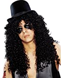 Best Costumes Franco Hommes - Franco 80's Guitar Rock Star Deluxe Black Wig Review