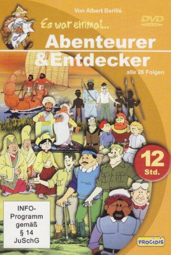 Es war einmal . . . Abenteurer & Entdecker, 6 DVDs