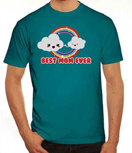 Geschenkidee Herren T-Shirt mit Cloud Best Mom Ever Motiv von ShirtStreet Diva