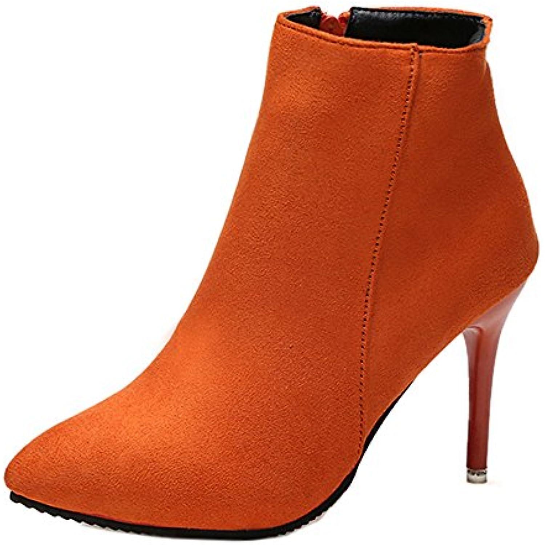 Easemax Femme Classique Talon Aiguille Low Low Aiguille Boots Bottines -  B07B8CS9TT - 1b3b53. « 4e83fe8c6a61