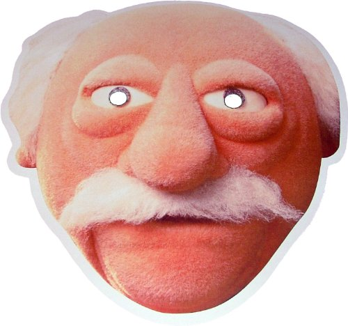 The Muppets - Waldorf - Card Face Mask