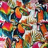 Birds of Paradise soft-furnishing Stoff–Extra