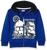 Disney Boy's Star Wars Trooper Sweatshirt, Blue (Navy), 4 Years