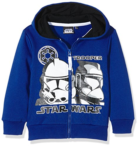 Disney Star Wars Trooper, Felpa Bambino, Blu (Navy), 10 Anni
