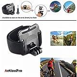 QuikProf Wrist Strap Mount,Arm Belt For Gopro Hero 1 2 3 3+ 4 Sprots Camera Sjcam Sj4000 Sj5000 Sj5000 Xiaomi Sports Action Camera Black