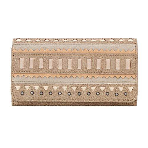Banadana From American West  Êwomen's Wallet,  Damen Damen-Geldbörse, beige - El Dorado - Beige - Größe: One Size (Geldbörse American West)