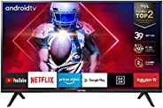 TCL 32ES561 Smart TV HD, (Android TV, HDR, Micro Dimming, Google Assistant, Dolby Digital), 32 pollici ,Nero