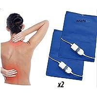 Elektrische Pad X2Stück Rücken Lendenwirbel 3Temperaturen 60W preisvergleich bei billige-tabletten.eu