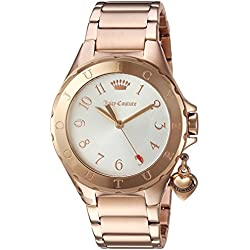 Juicy Couture Women's 'RIO' Quartz Stainless Steel Casual Watch, Color:Rose Gold-Toned (Model: 1901524)