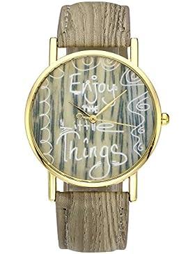 JSDDE Uhren,Damenmode Armbanduhr