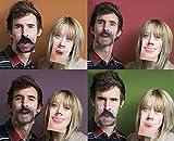3D Motion Gesichter Bierdeckel Untersetzter - Face Mats Coasters, 10-teilig