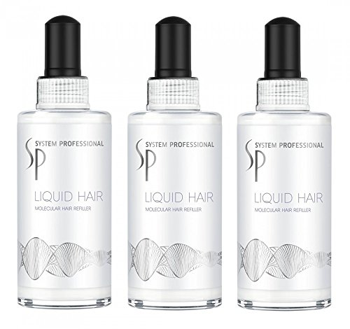 Wella System Professional Liquid hair 100ml - trattamento riparatore kit 3 pezzi