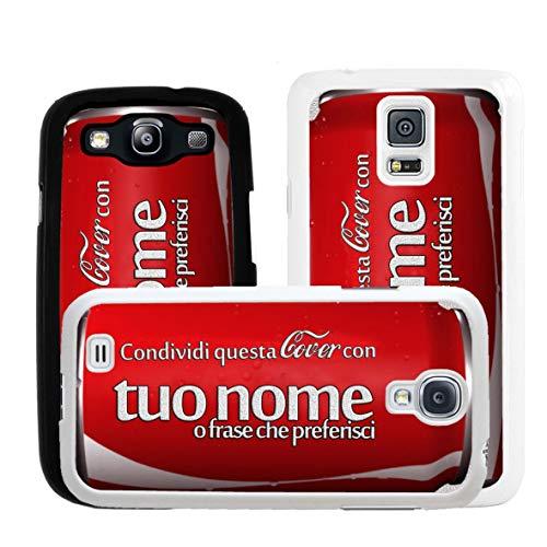Geketto Store Cover Lattina Personalizzata Per Samsung, Samsung Galaxy S5 Mini, Nero