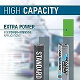ANSMANN wiederaufladbare Akkubatterie 2er Pack - 4