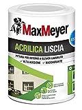 MaxMeyer 165027D300001 Esterno Pittura Acrilica Bianco 0,75 L
