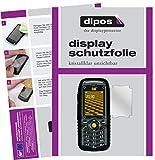 dipos I 2X Schutzfolie klar passend für Caterpillar CAT B25 Folie Bildschirmschutzfolie