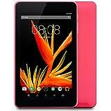 "Alldaymall Tablet de 7"" (17,7 cm), IPS HD 1920x1200, 16GB ROM+1GB RAM, Wi-Fi, Android 5.1, Quad Core, Bluetooth, OTG [2017 Modelo Nuevo A88T Pro], Color Rosa"