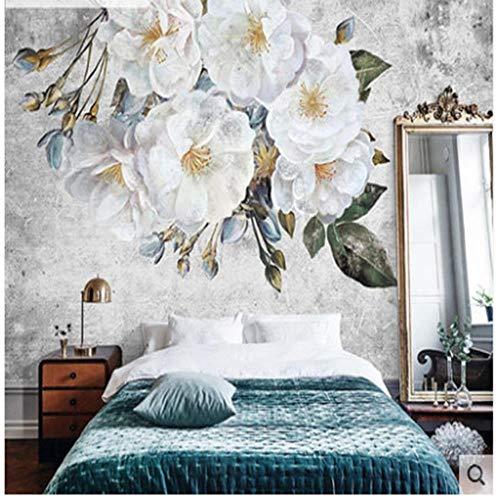 Fototapeten Wandbild Moderne Wandatmosphäre Weibliche Schlafzimmer Tapete Wohnzimmer Schlafzimmer Nachttisch Hintergrund Tapeten Net Red Wandtuch, 450 * 315 Cm (W * H) -