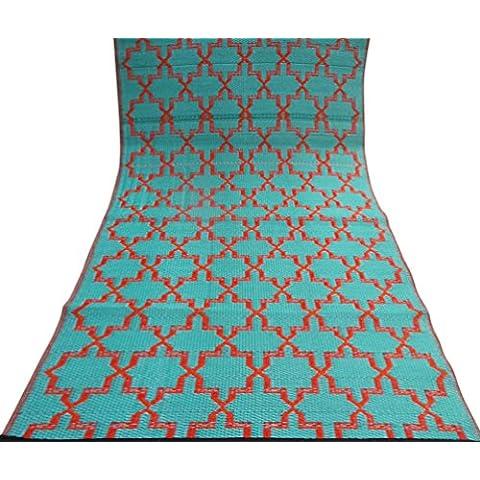 tappeto artigianale disegno geometrico grande pavimento tappeto straccio polipropilene materiale