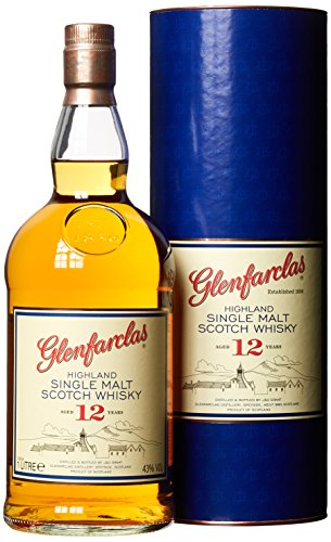 - 51KQ0QS63uL - Glenfarclas12 Jahre Highland Single Malt Whisky (1 x 1 l)